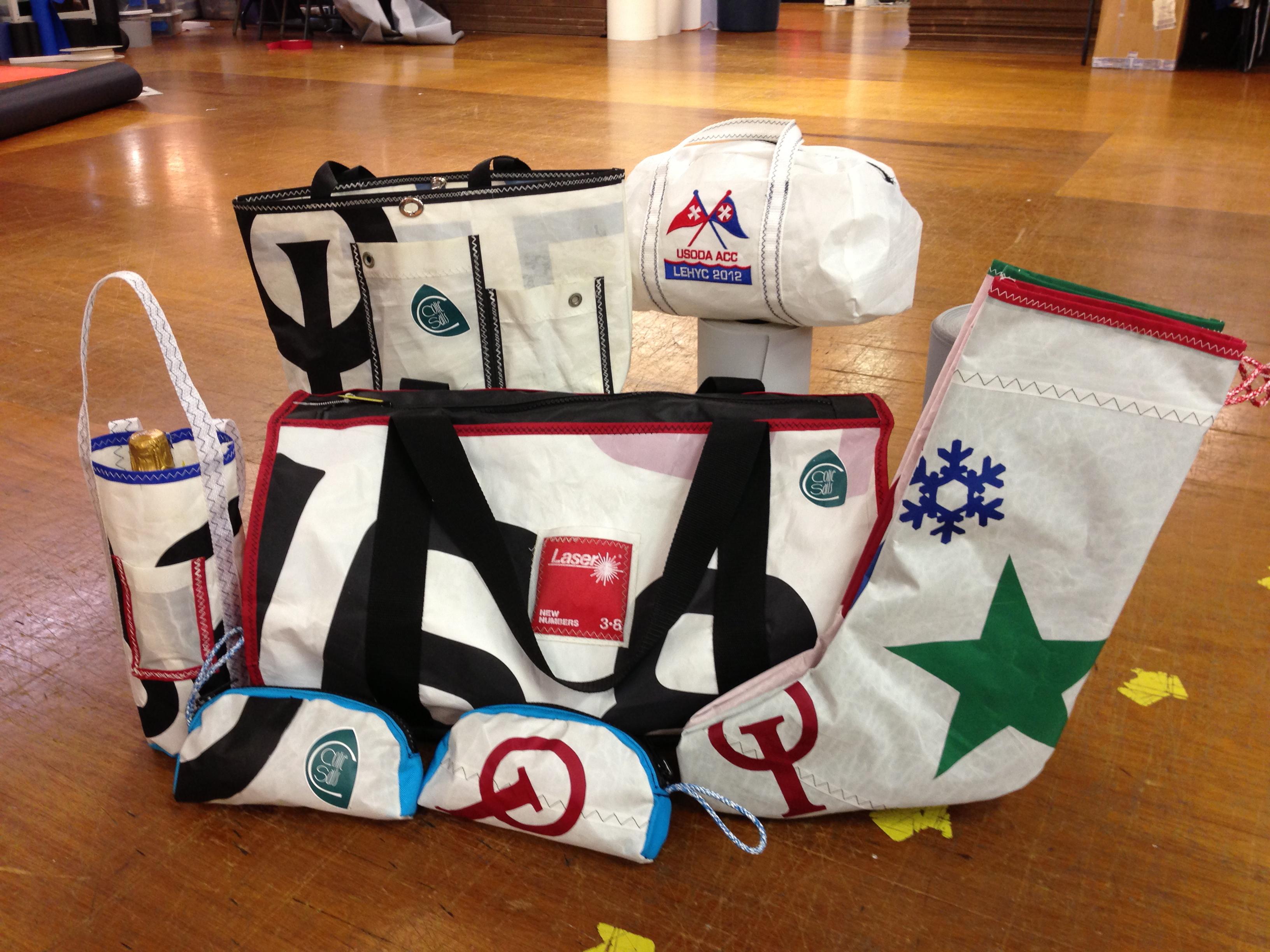 Sail Cloth Bags