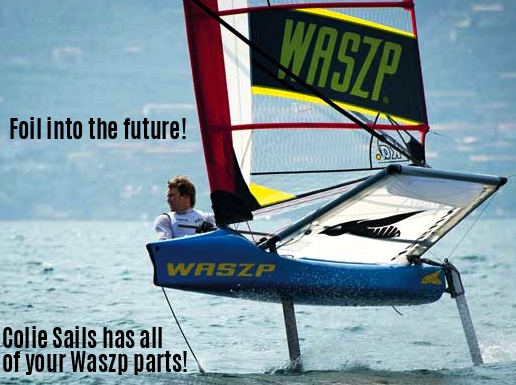 Waszp Sailing at Colie Sails